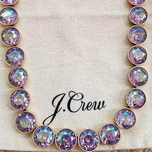 J. Crew Pink / Lavender Brulee Necklace